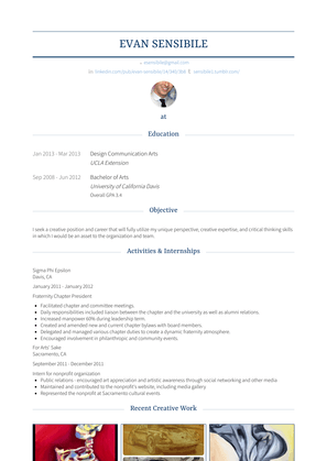 Financial Representative Resume Sample and Template