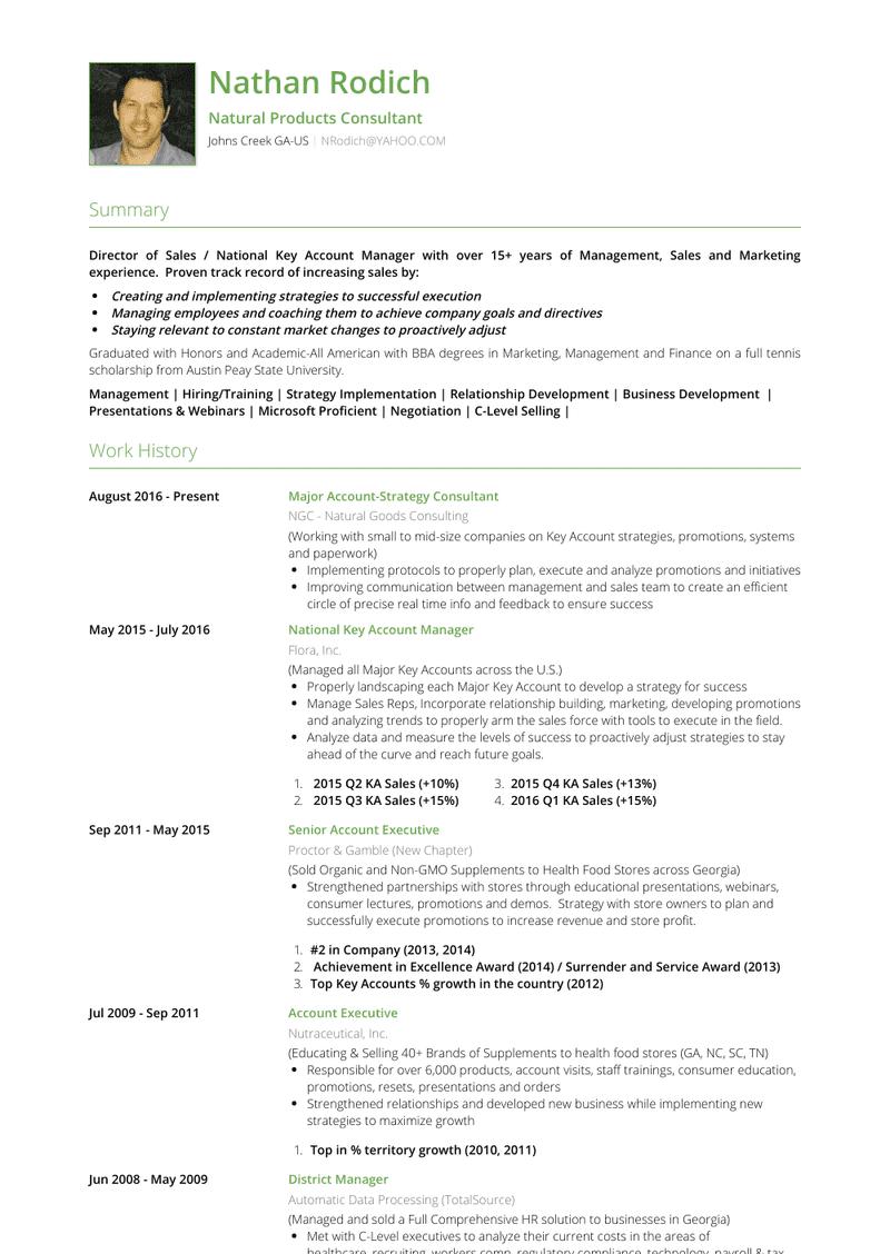 Senior Resume Samples And Templates Visualcv