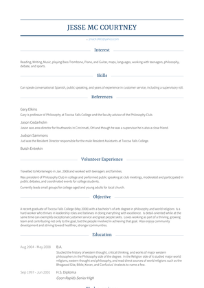 Corrections Officer Resume Sample and Template