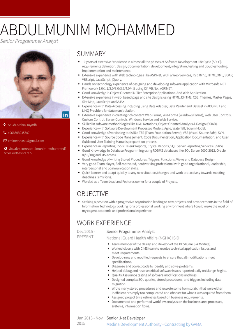 Resume of net developer old people and driving essay