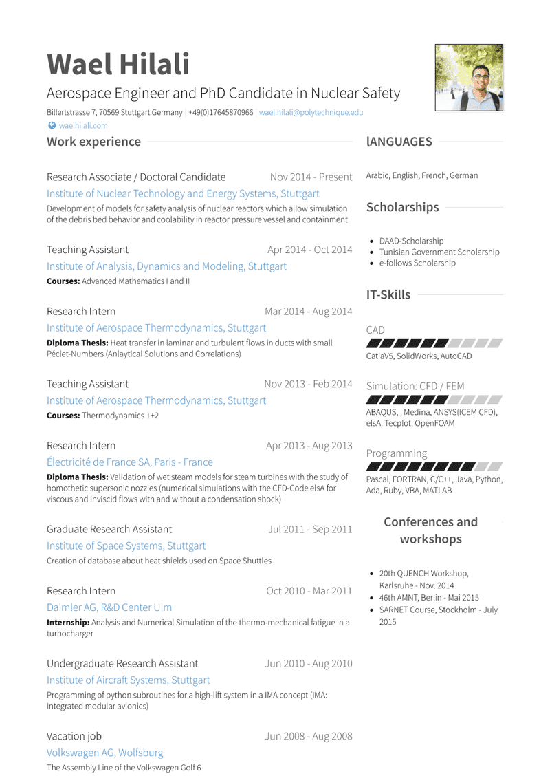 Research Associate Resume Samples And Templates Visualcv
