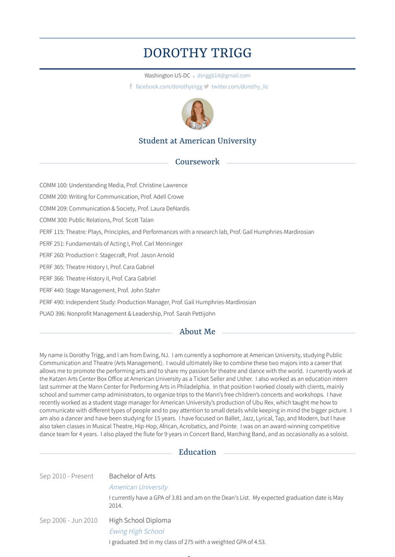 Ticket Office Assistant/usher Resume Sample and Template