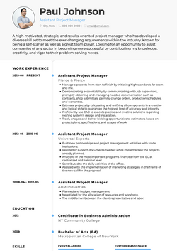 Elegant Resume Template and Example - Air by VisualCV