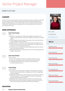 Personable CV Template and Example - Modern by VisualCV
