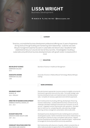 Insurance Agent Resume Sample and Template