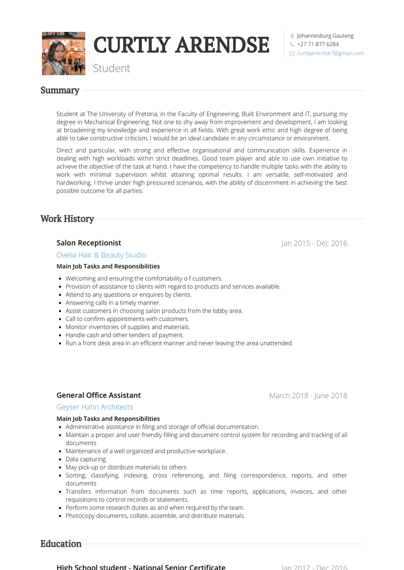 Legal Secretary Resume Sample and Template