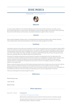 Social Media Specialist Resume Sample and Template