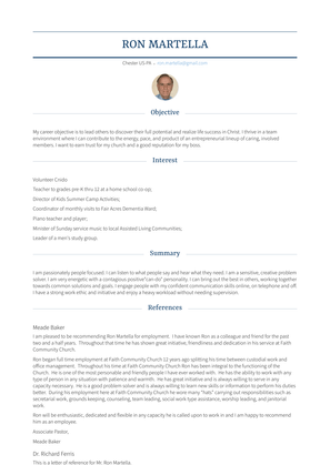 Office/property Manager Resume Sample and Template