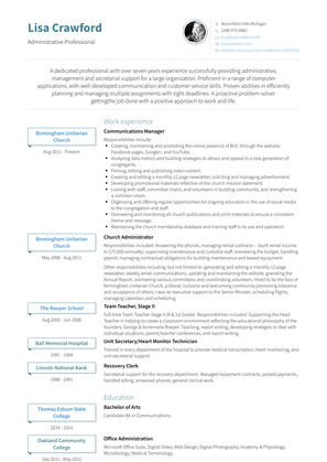 Owner/operator Resume Sample and Template